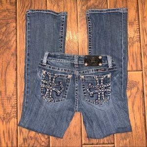 Miss Me Bootcut Rhinestone Jeans